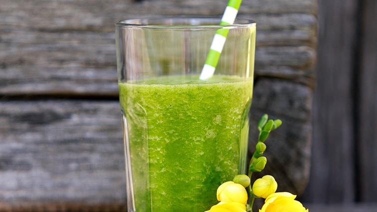 Banános zöld turmix - Recept